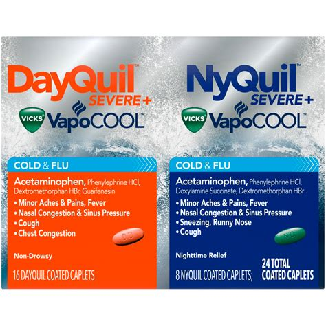 vicks nyquildyquil severec bundle health wellness