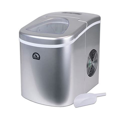 Igloo Countertop Maker - igloo silver portable countertop maker w scoop