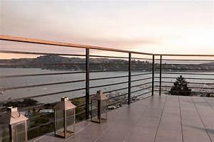 Sausalito Chef's Kitchen Remodel - Modern - Balcony - San