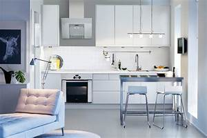 Cuisine Blanche Ikea : cuisine on pinterest ikea facades and coins ~ Preciouscoupons.com Idées de Décoration