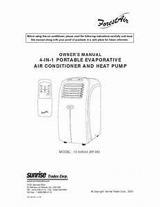 Forest Air 14 000 Portable Evaporative Air Conditioner