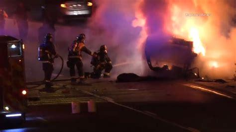 Eisenhower Expressway crash: 1 killed, boy critically ...