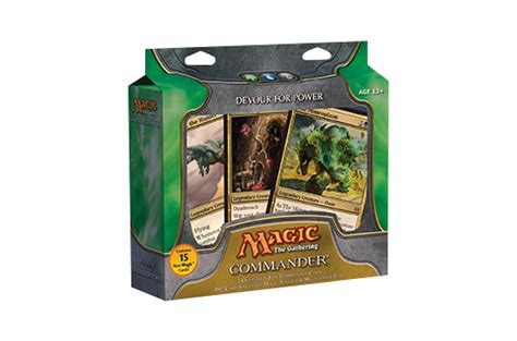 commander premade decks 2011 mtg commander card set archive products info
