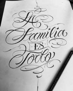 #familia | lo mejor | Letras caligraficas, Letras para