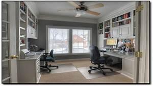 Dual office desks, dual desk home office ultimate home