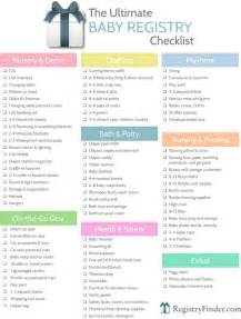 bridal registry checklist ultimate baby registry checklist baby shower planning