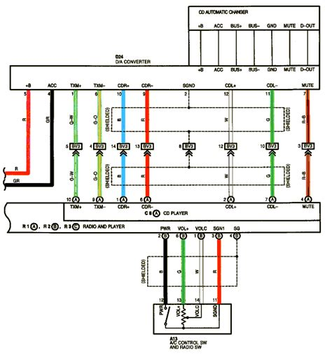 pioneer deh mp stereo wiring diagram
