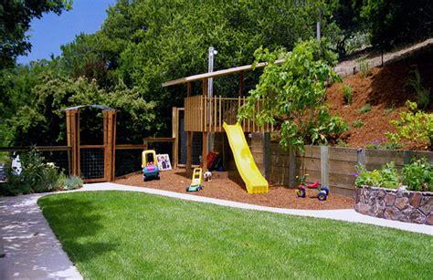 sloping backyard ideas marceladickcom