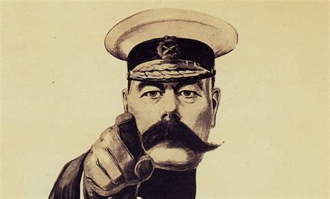 Lord Kitchener's iconic 'Your country needs you' image was ...
