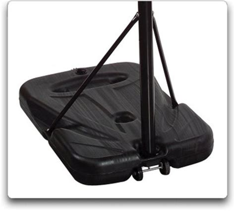 amazoncom spalding portable basketball system ea