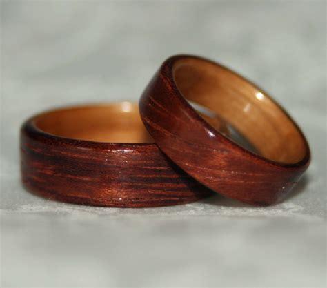 wooden wedding rings criolla brithday wedding