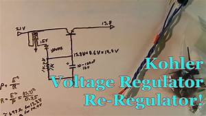Kohler Voltage Regulator Re-regulator