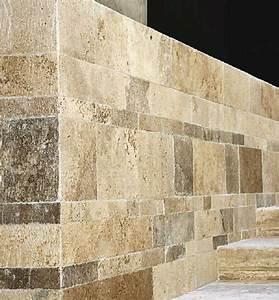 Naturstein Wandverkleidung Wohnzimmer : travertin platten fliesen marmor bodenbelag ~ Michelbontemps.com Haus und Dekorationen