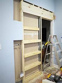 how to install a pocket door How to Destroy Your Fears: Install a Pocket Door | Hometalk