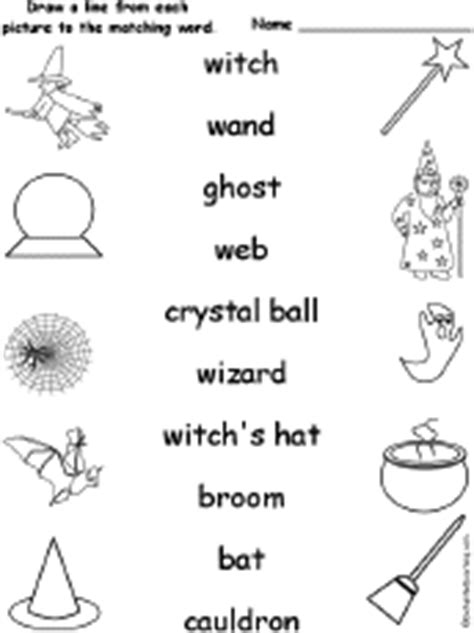 spelling worksheets witches wizards  magic
