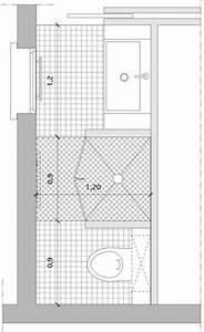 Plan Salle De Bain 4m2 : la douche entre toilettes et point d 39 eau styles de bain ~ Dailycaller-alerts.com Idées de Décoration