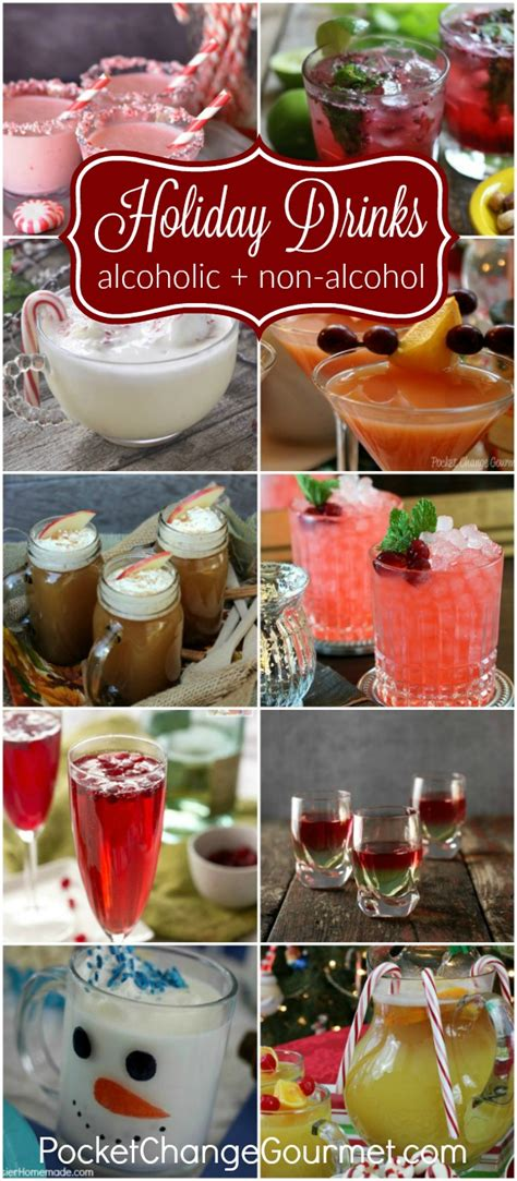 festive holiday drinks for christmas and new year s eve