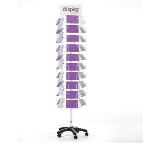ergonomic standing greeting card a6 floor spinner 6 sided the display