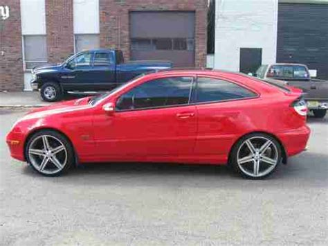 Free shipping on many items | browse your favorite brands | affordable prices. Find used 2003 Mercedes-Benz AMG C230 Kompressor Coupe 2-Door 1.8L SUPERCHARGED in Linden, New ...