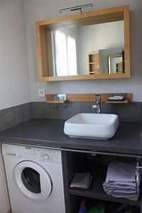 Plan Petite Salle De Bain Avec Wc : plan petite salle de bain avec wc maison design bahbe com ~ Melissatoandfro.com Idées de Décoration