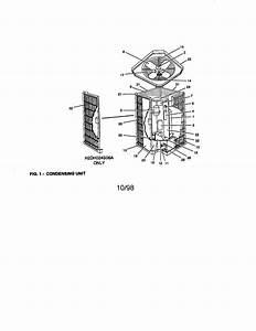 York Model H2dh030s06b Air Heat Pump Outside Unit  Genuine Parts