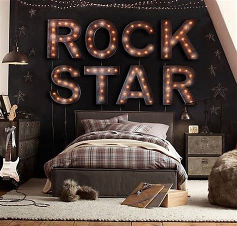 chambre rock 10 boys bedrooms home design and interior