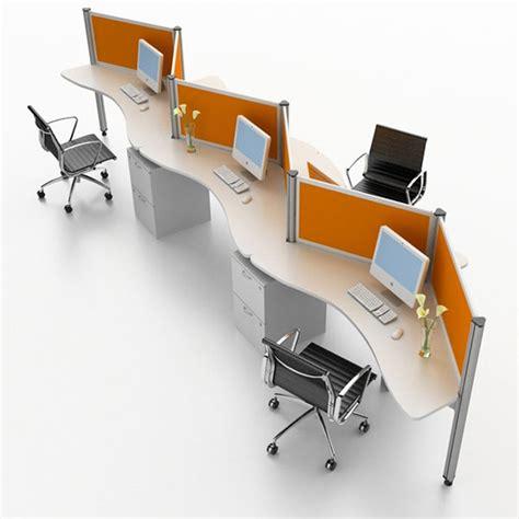 modern workstation design for interior office system furniture sunflower by bristol zig zag
