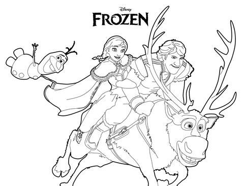 Disegni Da Colorare Di Frozen