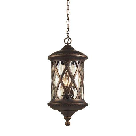 Titan Lighting Barrington Gate 3light Hazelnut Bronze
