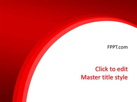 background red powerpoint template  powerpoint