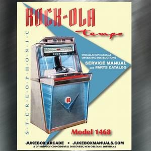 Rock Ola 1468 Service Manual  Parts Catalog  U0026 Installation