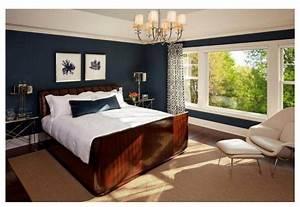 chambre beige et bleu idees de decoration capreolus With quelle couleur avec bleu marine 18 chambre adulte marron turquoise