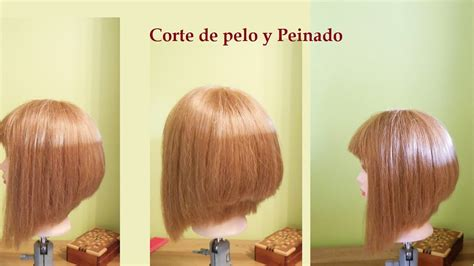 corte de pelo bob en capas  las mujeres  los ninas paso  paso corte de cabello corto bob