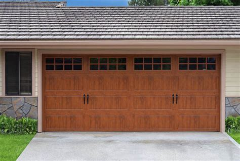 garage door wood look we use steel or iron wood and glass to create gate and