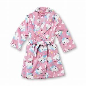 hello kitty toddler girl39s fleece robe With robe hello kitty