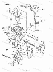 Suzuki Atv 1994 Oem Parts Diagram For Carburetor
