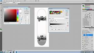 longboard template maker - how to make a cool skateboard template using photoshop cs4