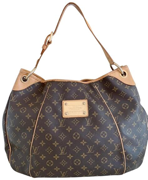 louis vuitton galliera gm brown monogram canvas hobo bag tradesy