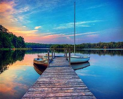 Dock Lake Boat Background 1024 1280 Backgrounds
