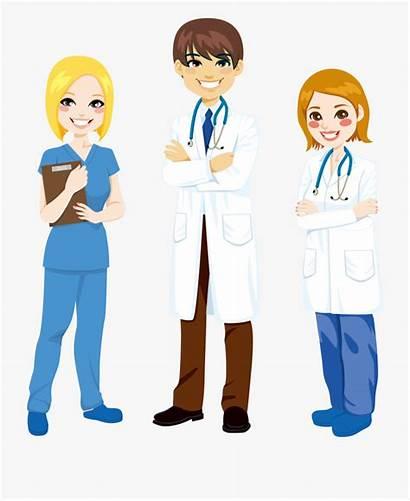 Nurse Clip Doctor Clipart Cartoon Nursing Transparent