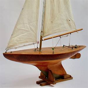 Alexander And Sons Model Pond Yacht