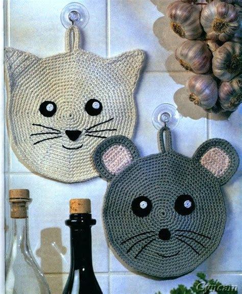 crochet pour torchon cuisine 1000 idées sur le thème maniques au crochet sur