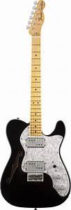 Fender Fsr American Vintage 72 Telecaster Thinline Black