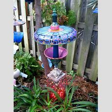 Donna's Art At Mourning Dove Cottage Whimsical Garden