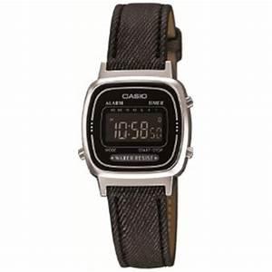 Montre Vintage Casio : montre casio retro vintage la670wel 1bef montre rectangulaire tissu noire femme sur bijourama ~ Maxctalentgroup.com Avis de Voitures