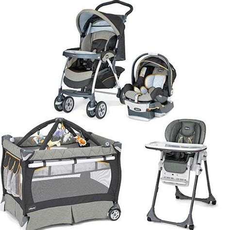chicco sedona kit stroller system high chair and play yard