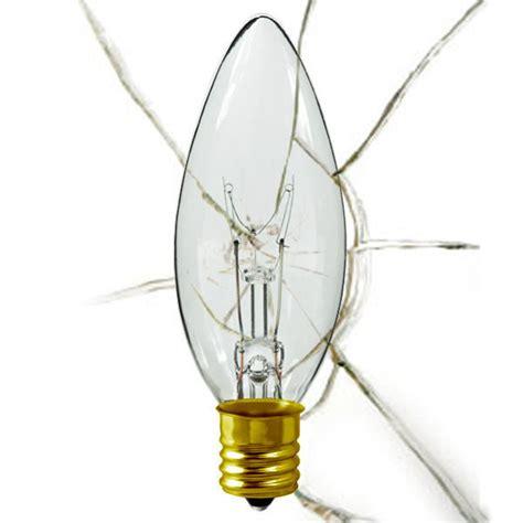 shatter resistant 25w tip bulb