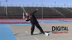 Shot Put Spin and Glide Technique Comparison - Track and Field