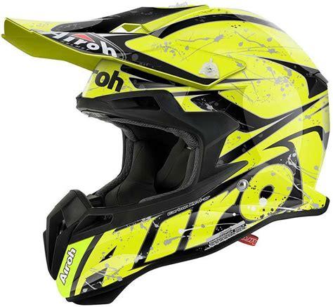 airoh motocross helmet airoh terminator 2 1 splash motocross helmet black