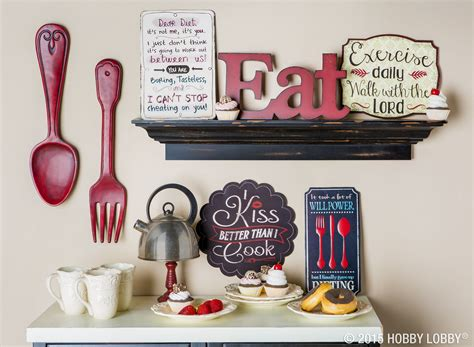 red fork wall decor   kitchen ideas red kitchen